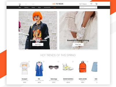Like to Wear_online store