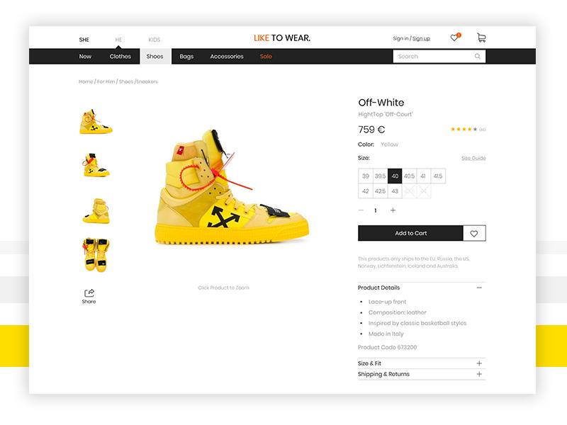 Like to Wear _ Online store store online shop shop branding flat  design ios follow me followforfollow flat app website uidesign likeforlike like follow design web ux uiux ui