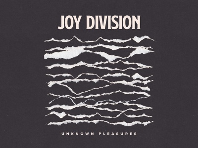 Unknown Pleasures Designs Themes Templates And Downloadable Graphic Elements On Dribbble