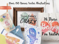 150+ Bonus Vector Illustrations