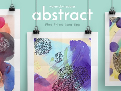 Free Abstract Watercolor Textures drawn textures poster background abstract watercolor freebie free