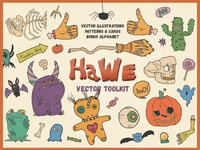 🐣 HaWe: Free Halloween Vector Toolkit