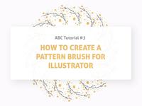 🛠 Tutorial: Pattern Brush For Illustrator