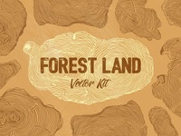 🌳 Forest Land Vector Kit 🌳