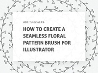 🛠 Tutorial: Seamless Pattern Brush For Illustrator