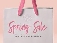🛎 Total Spring Sale