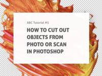 🛠 Tutorial: Cut Out Objects From Photo Or Scan In Photoshop