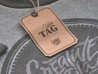 🏷 Free Clothes Tag PSD Mockups
