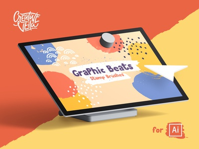 🐣 Graphic Beats: Brushes for Illustrator
