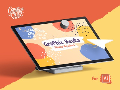 🐣 Graphic Beats: Brushes for Illustrator clipart shape splash pencil drawing painting graphic  design artwork watercolor artistic brushes symbols stamp beats graphic creative veila illustrator cs6 illustrator cc illustrator adobe illustrator ai