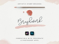 Brushwork: Artistic Procreate & Photoshop brushes