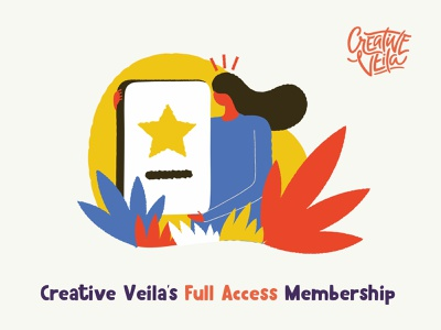 Full Access Membership watercolor photoshop illustrator brushes textures doodles vectors illustrations seamless patterns styles layer goods design veila creative