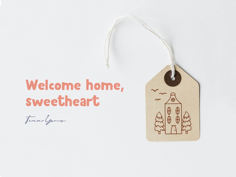 Welcome Home download doodle hand crafted made hand eps veila creative style scandi humble bulding house home design illustrator illustration freebie free vector