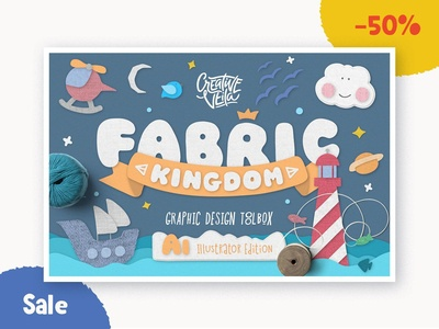 🧶 Fabric Kingdom Layer Styles 50% Off