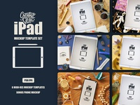 Free Ipad Mockup Template Set