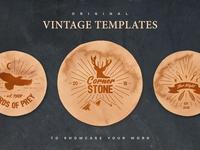 Vintage Paper Mockup Templates