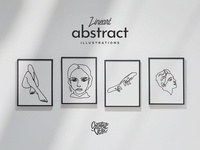 Free Lineart Abstract Vector Illustrations