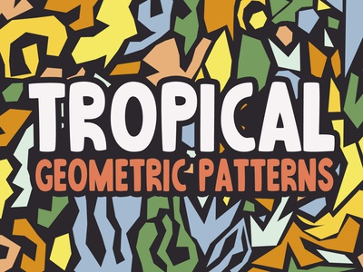 Free Abstract Tropical Patterns