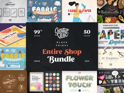 ⭐️ Black Friday Entire Shop Bundle is Here!