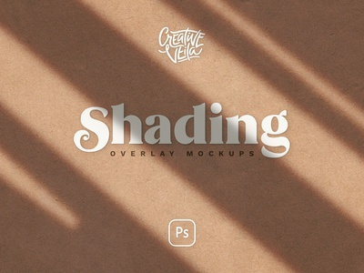 Shadow Overlay & Stationery Mockup Set