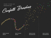 Confetti Procreate Brushes