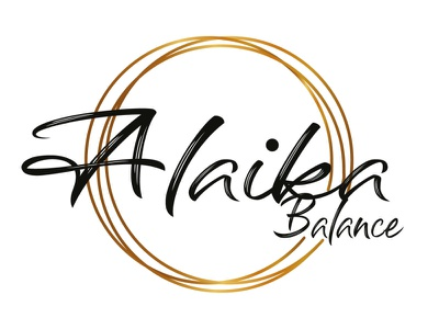 Alaika gold black brand illustrator design identity branding illustration logo