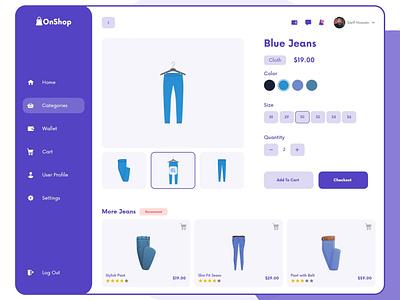 OnShop-Product Buy Page websight clean app landing illustration debut dribbble ui8 modern clean landingpage uiuxdesign ux ui website woocommerce ecommerce dashboard 2020 2020 trend