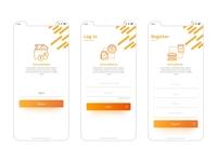 VirtualBank-Login & Register