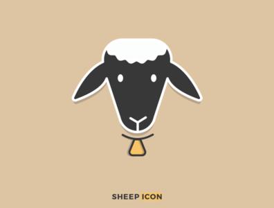 Sheep Icon logos outline icons logo branding logos graphics branding icon logo illustrator design vector illustration