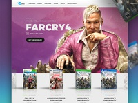 Dribbble Ubisoft Pitch design