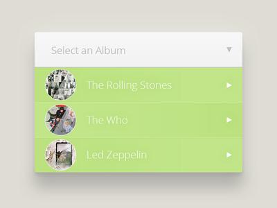 Select an Album