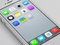My iOS7 redesign