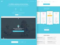 Vizir - Landing Page