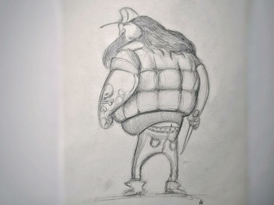 "fan art ""Open Season"" sketch illustration character design character"