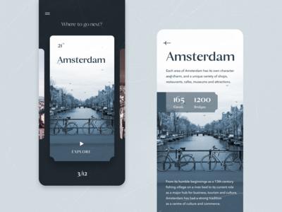 Travel App — Amsterdam Guide