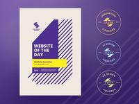 CSS Design Awards - Judge and public awards