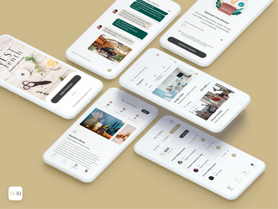 West Tenth - iOS App modern services online buyer storefront women community ideation minimalist creative design branding ux ui app ios