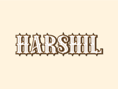 Harshil Typography