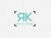 RK Album Design Logo