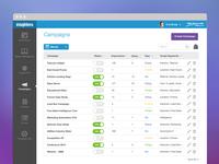 Web App - Campaigns