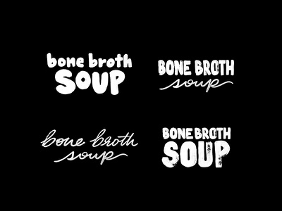 Handwritten Type for Parks & Nash Soups identity brand design soup brand identity packaging design handwritten type packaging branding