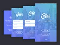 Atlas Onboarding Mobile Design