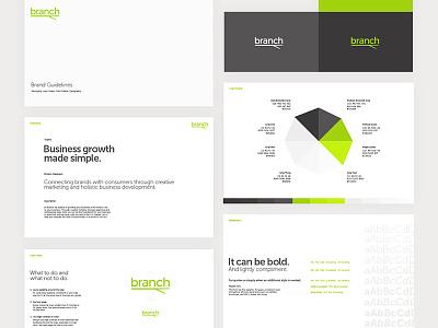 Branch Brand Guidelines brand package brand colors brand guidelines typefaces color palette brand design brand identity branding logo logo design branch