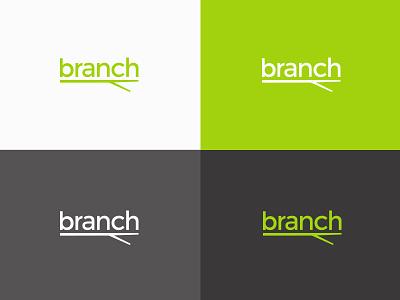 Branch Branding branch logo design logo branding brand identity brand design color palette typefaces brand guidelines brand colors brand package