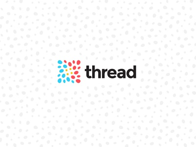 Thread Brand Identity & Digital freelance blockchain mark identity brand design brand design community connection digital color palette brand identity branding logo logo design