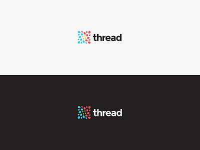 Thread Brand Identity & Digital community connection digital blockchain mark brand design identity color palette brand brand identity logo design logo design branding