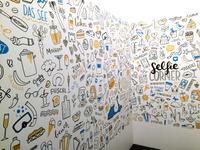 Wallpaper illustration