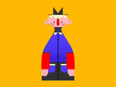 Bert vector design creative character cartoon comic procreate colorful painting flat blue illustration