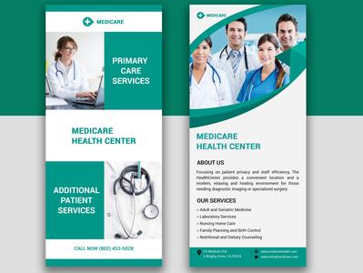 Medical DL Flyer Design Vectors and PSD files