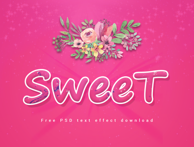 Sweet । stylish text effects
